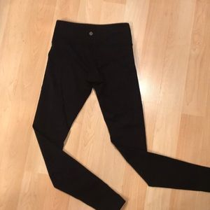 Lululemon leggings. Size 4. Mid-rise/28""